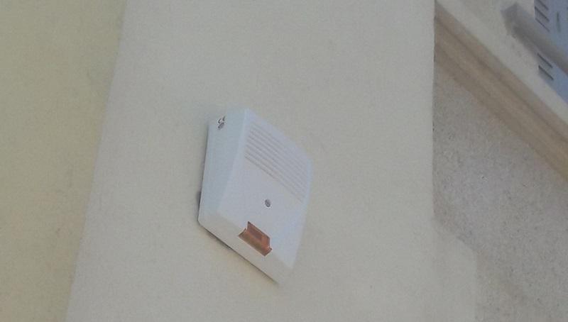 Installation d'alarme intrusion avec contrôle d'accès